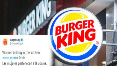 Photo of Tunden A Burger King Por Mensaje Machista En Redes En Pleno Día De La Mujer