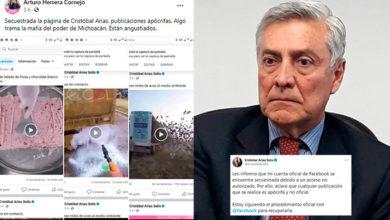 Photo of #Michoacán Hackean Cuenta De Facebook A Cristóbal Arias; Acusan Fue Mafia Del Poder
