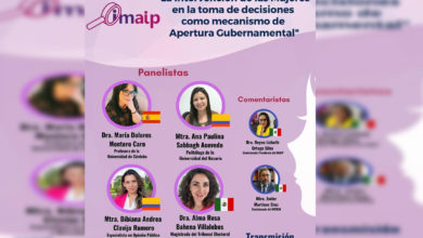 Photo of IMAIP Invita A Encuentro Internacional De La Intervención De Mujeres En Toma De Decisiones