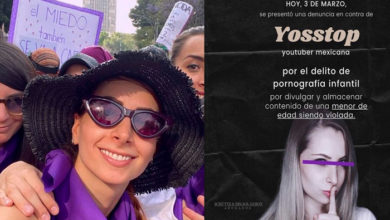 Photo of Denuncian A Influencer Mexicana YosStop Por Pornografía Infantil