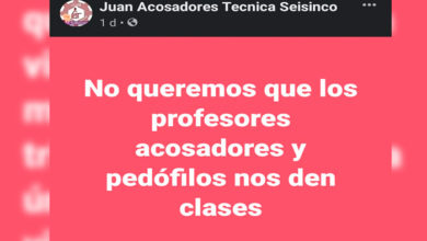Photo of #Morelia Víctimas Secundaria 65 Crean Página Para Exponer Casos de Acoso