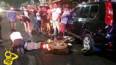 Photo of #Morelia Casi De Manera Simultánea Dos Motociclistas, Se Accidentan En La Avenida Pedregal