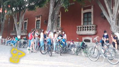 Photo of #Morelia Empieza Concentración Para La Rodada Ciclista Feminista Por 8M