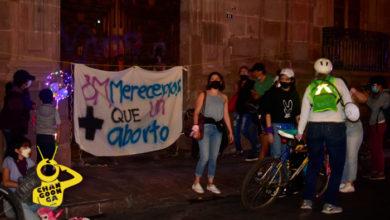 Photo of #Morelia Con Cacerolazo 'Morras Inquietas' Concluye Rodada Feminista En El Centro