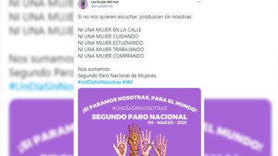 """Photo of En México: Llaman A Segundo Paro """"Un Día Sin Nosotras"""" Este 9 De Marzo"""