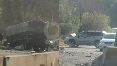 Photo of Tráiler Brinca Muro De Contención Y Arrasa Autos En La Morelia-Pátzcuaro