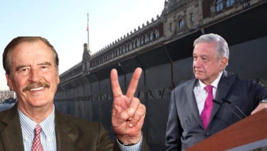 "Photo of ""Está Cerrada Con 3 Candados"", Fox Critica A AMLO Por Vallas En Palacio Nacional"
