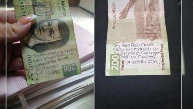 Photo of Guadalajara: Viralizan Billetes Con Mensajes De Presuntas Secuestradas; Resultan Falsos
