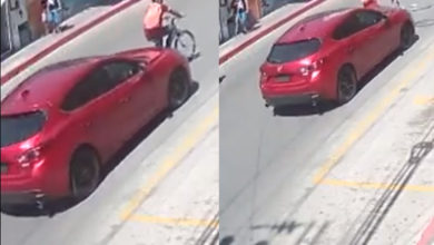 Photo of Pasa En México: Conductor Atropella A Ciclista; Exige Pago Por Daños A Su Carro