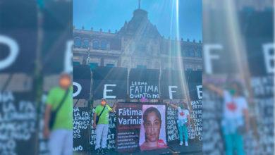 Photo of Padres De Fátima, Niña Víctima De Feminicidio, Piden Justicia Frente A Vallas De Palacio Nacional