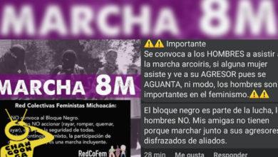 Photo of #Morelia Marcha Del 8M Es 'Para Todes' Menos Pa' Revoltosas: Organizadoras