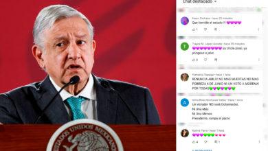 """Photo of """"¡Qué Tiemble El Estado!"""": Feministas Se Manifiestan En Mañanera De AMLO"""