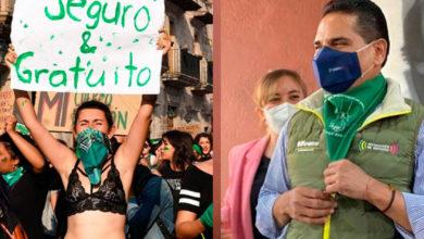 Photo of Feministas: Que Silvano Use Pañuelo Proaborto Es Mensaje Para El Próximo Gober