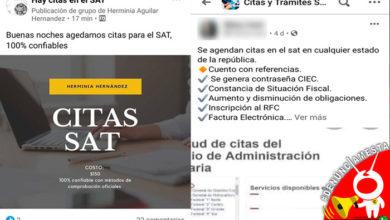 Photo of #Denúnciamesta Morelianos no pueden conseguir citas en el SAT, pero en Face se las venden