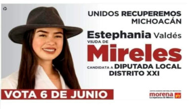 Photo of Genera Polémica Viuda De Mireles Por Promoverse Como Tal Para Diputación