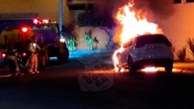 Photo of ALV! Camioneta Se Incendia De La Nada En Colonia Mirador Del Punhuato En Morelia