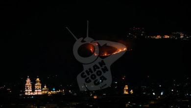 Photo of #Morelia Sin Control Incendio En Loma De Santa María
