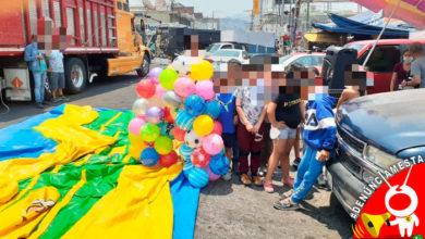 Photo of #Denúnciamesta administradora del independencia deja sin inflable a niños de locatarios