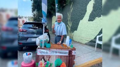 Photo of Abuelito Moreliano Sale A Vender Nieves Todos Los Días: Piden Le Vayan A Comprar