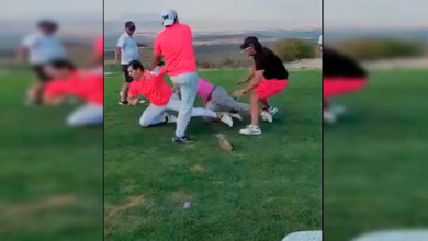 Photo of #Video Se Arman Los Guamazos Entre Mirreyes En Campo De Golf