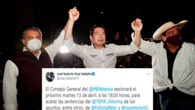 Photo of Hasta El Martes INE Definirá Candidatura De Morón En Michoacán
