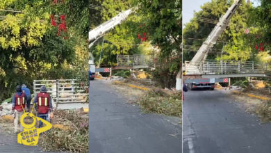 Photo of #Morelia Retiran Puente Peatonal En Solidaridad, Sería Reemplazado