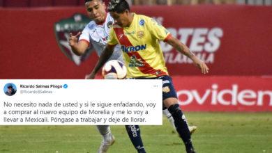 Photo of Con Prepotencia Salinas Pliego Amaga Con Comprar Al Atlético Morelia Para Llevárselo
