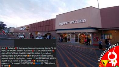 """Photo of #Denúnciamesta Señalan """"modus operandi"""" en robos a clientes de supermercados"""