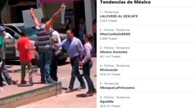Photo of Silvano, Michoacán Y Aguililla Son Tendencia Nacional Por Empujón