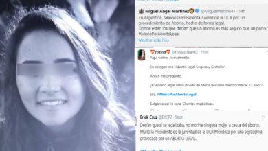 Photo of Se Registra La Primera Muerte Por Aborto Legal En Argentina; Providas Lo Hacen Tendencia