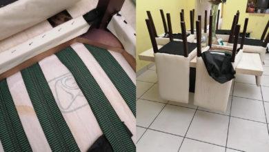 Photo of #WTF Acusan A Mueblería Mexicana De Fabricar Sillas Con Sábanas Ensangrentadas Del IMSS