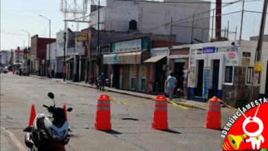 Photo of #Denúnciamesta Negocios de zona en obra de la Lázaro piden paro ¡Consúmeles!