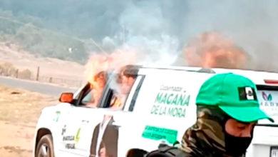 Photo of Dirigente Del Verde Lamenta Violencia En Michoacán Tras Sustraerle Y Quemarle Su Troka