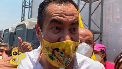 Photo of Michoacanas Hacen Suyo A CH Le Gritan: ¡Carlos Papucho… Te Quiere Mucho!