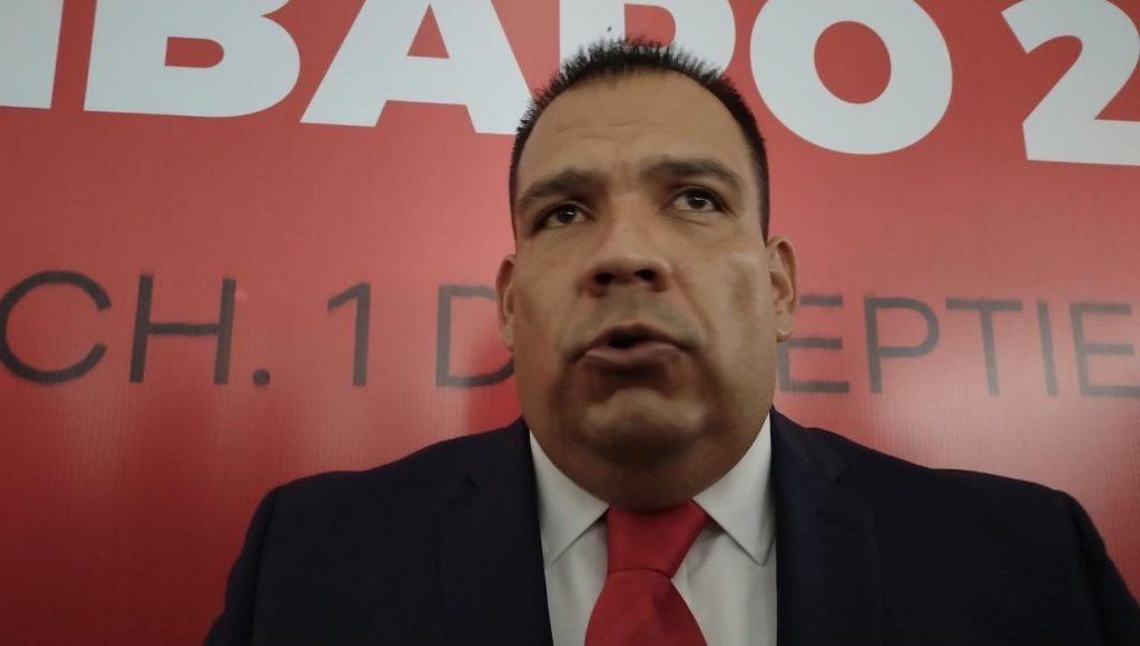 El actual alcalde Bladimir González